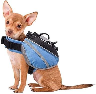 Mascotas ArnÉS Alforjas, Viaje Para Perros Senderismo Mochila ...