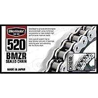 BikeMaster 520 X 1 20 BMZR Z-Ring Chain Black/Chrome 520BMZR-120/BC