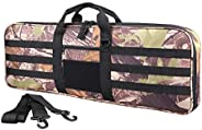 XTACER Tactical Bow Case MOLLE Recurve Takedown Bow Case Fully Padded Case