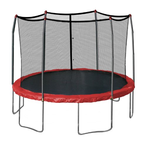Skywalker 12-Feet Round Trampoline with Enclosure, Red by Skywalker Trampolines (Image #5)