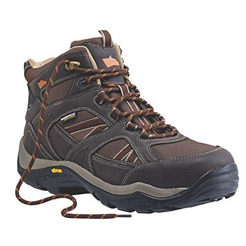 Hyena Barranco impermeable botas de seguridad marrón tamaño 7