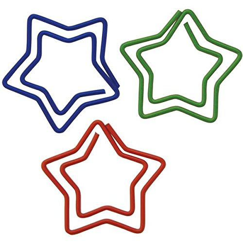 (Baumgartens 24330 Star Shaped Paper Clip,)