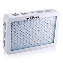 King 450w Full Spectrum 360-870nm LED Grow Light for Indoor Flower Planting Growing(3w Led)
