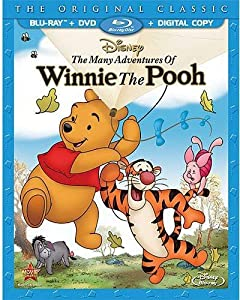 Cover Image for 'The Many Adventures of Winnie the Pooh (Blu-ray / DVD + Digital Copy)'