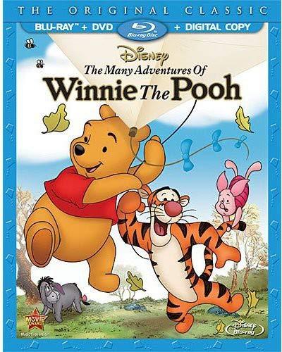 The Many Adventures of Winnie the Pooh (Blu-ray / DVD + Digital Copy)