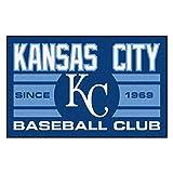 Fanmats 18470 Kansas City Royals Baseball Club Starter Rug