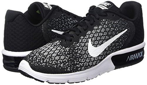 black Zapatillas white De Multicolor Running Max 002 Nike Mujer Wmns dark Grey Grey Sequent Asfalto wolf Para Air 2 xn7pS