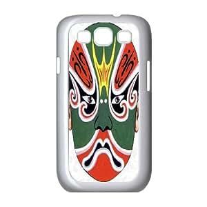 Custom Samsung Galaxy S3 I9300 Case, Zyoux DIY Samsung Galaxy S3 I9300 Case Cover - Facial makeup in operas