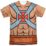Masters Of The Universe He Man Costumes Mens Sublimation Shirt
