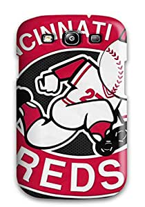 Durable Cincinnati Reds Back Case/cover For Galaxy S3