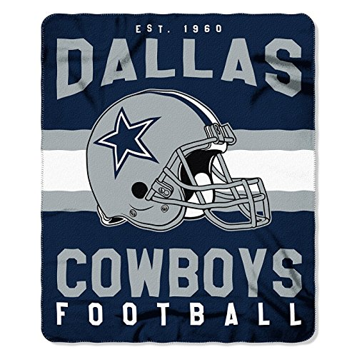 Dallas Cowboys NFL Football Sports Team 50x60 Fleece Fabric Throw (Dallas Cowboys Fabric)