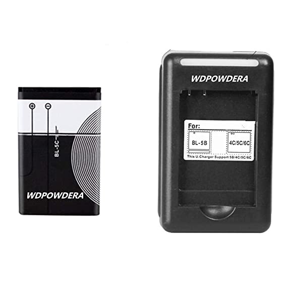 Amazon com: BL 5C Battery with Battery Charger: Cell Phones