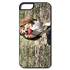 IPhone 5S Case, Scotland Collie Dog White/black Covers For IPhone 5 5S