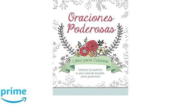 Amazon.com: Oraciones poderosas libro para colorear: Colorea tu ...