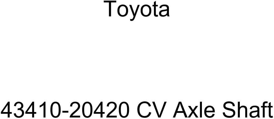 Toyota 43410-20420 CV Axle Shaft