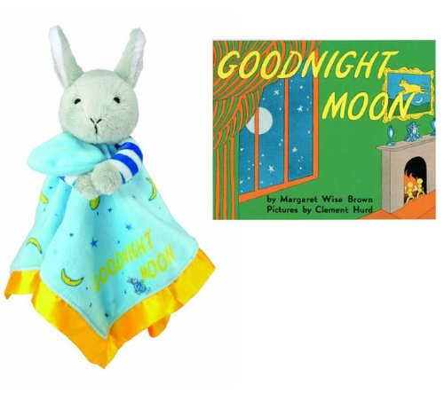 Goodnight Moon Bunny Blankie & Beloved Board Book, Baby Gift