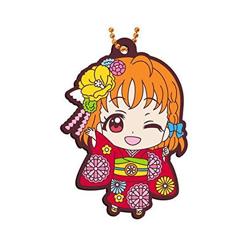 Gashapon Love Live! Sunshine!! Rubber Mascot 08 : Chika Takami (single)
