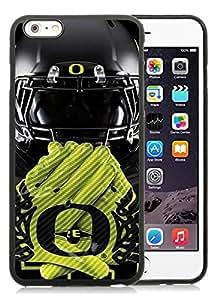 Popular And Unique Custom Designed Case For iPhone 6 Plus 5.5 Inch TPU With Oregon Ducks 03 Black Phone Case