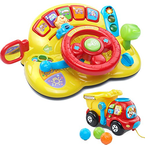 Vtech Turn   Learn Driver Baby Toddler Learning Toys Activity With Drop   Go Dump Truck