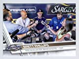 2017 Topps Update Rookie Card Brett Phillips Photo Variation Short Print ! #US96 Mint! Milwaukee Brewers!
