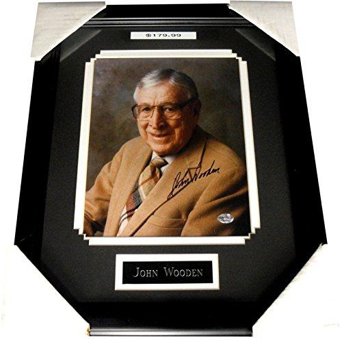 John Wooden Hand Signed Autographed 8x10 Photo UCLA Coach Legend W/ - Coach Online Shop