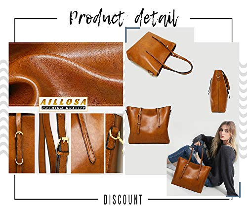 for AILLOSA Handbags Bags Shoulder Satchel and Red Tote Purses Women rtqtxFw
