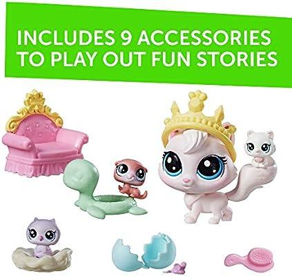 Owls Littlest Pet Shop Mommy /& Teensie Baby Oona Owler 1-77 Nona Owler 1-78 LPS