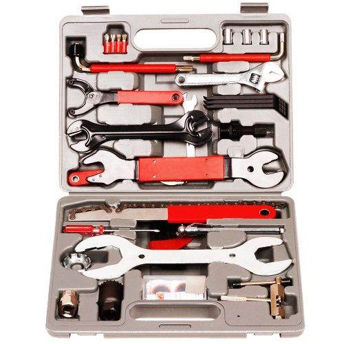 48tlg.-Set Fahrrad Werkzeug Reparaturset inkl. praktischem Tragekoffer