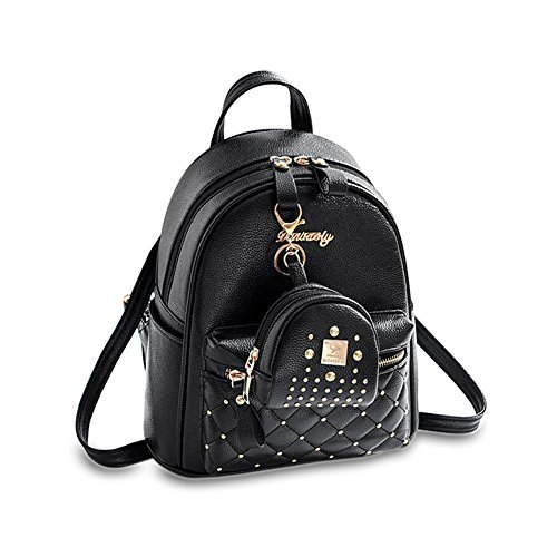 c15602e91f Cute Small Backpack Mini Purse Casual Daypacks Leather for Teen Girls and  Women
