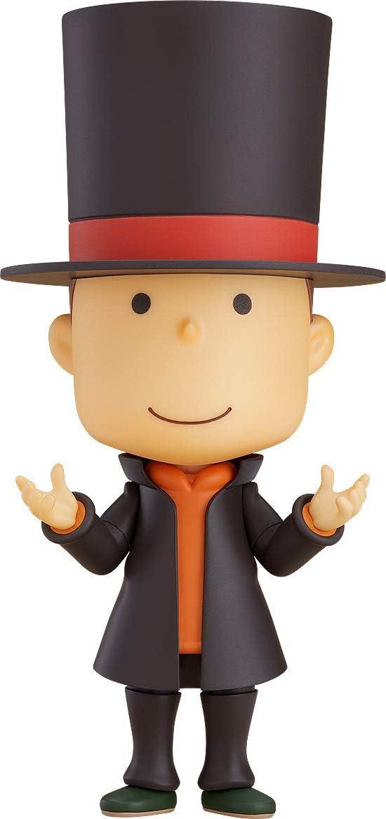 Good Smile Company Professor Layton 10 cm. Layton Mystery Detective Agency: Kats Mystery Solving Files. Nendoroid: Amazon.es: Juguetes y juegos