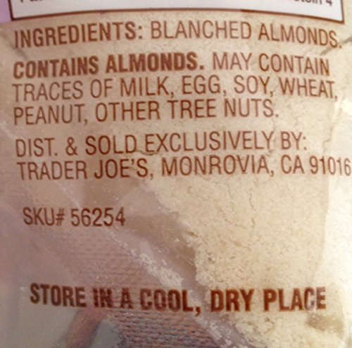 Trader Joes Blanched Almond Flour - Gluten Free - 16oz Bag by Trader Joe's (Image #2)