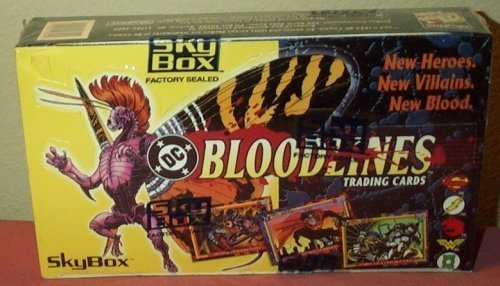 (DC Bloodlines 36 Count Trading Cards Box)