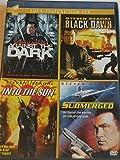 Steven Seagal Four-Feature Film Set: Against the Dark, Black Dawn, Into the Sun & Submerged ( DVD, 4-disc set)