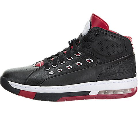 Nike Jordan Men's Jordan Ol'School Black/White/Gym Red Ba...