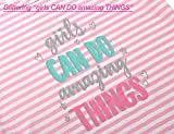 Summer Pajamas for Girls – Pink Stripe