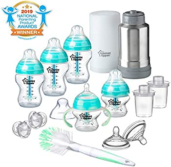 Tommee Tippee Advanced Anti-Colic Newborn Baby Bottle Feeding Gift Set