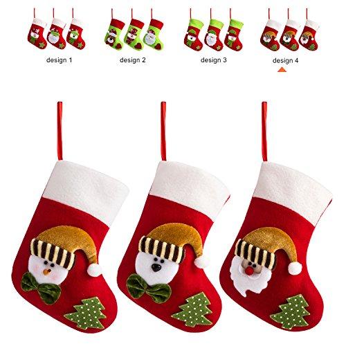 Santa Mini Stocking (iPEGTOP 3 Set 7.5