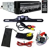 Soundstream VIR-7830B Single-DIN Bluetooth Car Stereo DVD Player w/ 7 LCD Touchscreen and Rear View Camera