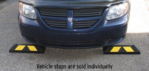 Tapco 1485 00053 Rubber Home Park It Vehicle Wheel Stop 22quot Length