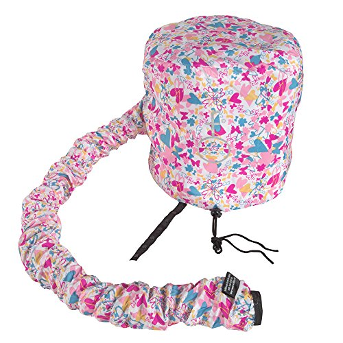 Bonnet Dryer (Deluxe Softhood Bonnet Hair Dryer Attachment - Love Your Hair Butterfly)
