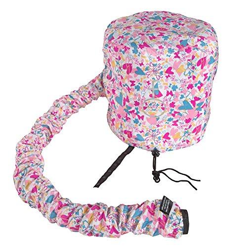 Dryer Bonnet (Deluxe Softhood Bonnet Hair Dryer Attachment - Love Your Hair Butterfly)