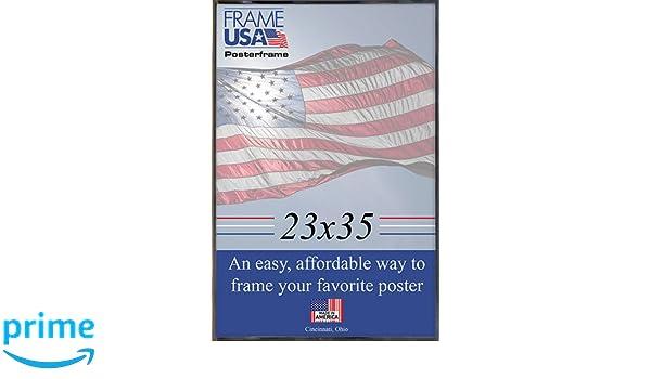 Amazon.com: 23x35 Black Poster Frame w/Plexi-Glass and Hardboard ...