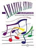 BOOSEY & HAWKES HARRISON - AMAZING STUDIES - SAXOPHONE Educational books Saxophone by Haydn, Traditional and Telemann, Arr: Harrison 30 composers including Bach (Sheet music) Sheet music