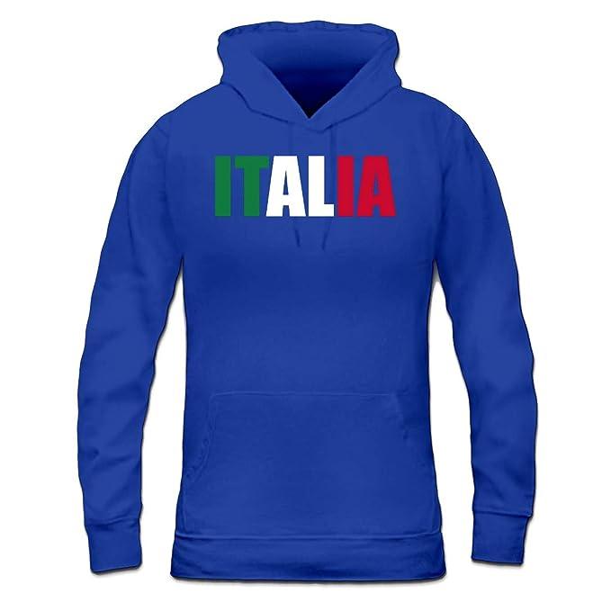 Shirtcity Sudadera con Capucha de Mujer Italia Logo by: Amazon.es: Ropa y accesorios