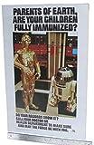 #6: Immunization Poster 1979 Vintage Star Wars C-3PO R2-D2 Original
