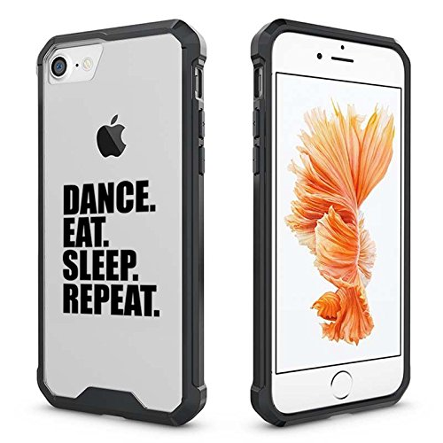 new concept 75332 d7d69 Amazon.com: For Apple iPhone Clear Shockproof Bumper Case Hard Cover ...