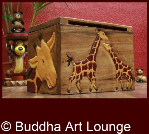 Giraffen,Truhe,Kiste,Spielzeug,Holz,Massiv,Kinderzimmer: Amazon.de ...