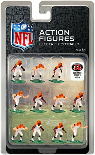 Cincinnati Bengals Away Jersey NFL Action Figure Set (Bengals Nfl Uniform)