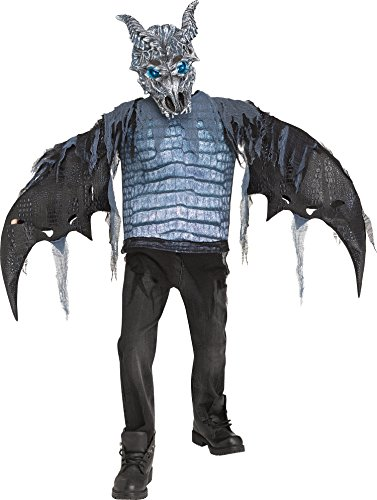 Fun World Ice Dragon Child Costume, Multicolor, Medium -