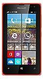 Microsoft Lumia 435 8GB 4G Unlocked GSM Windows Smartphone - Bulk Packaging (Red)